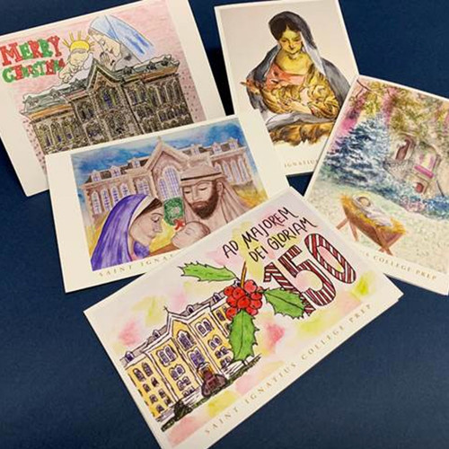 Boxed Christmas Card Set (10 cards per set)