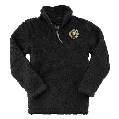 Wolfpack Sherpa ¼ Zip by Boxercraft
