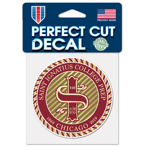 "4"" Perfect Cut Anniversary Decal"