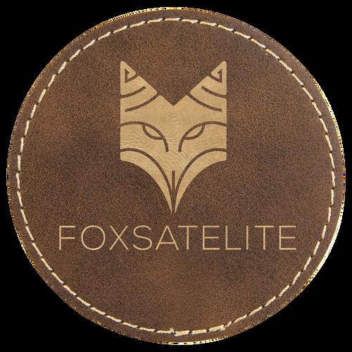 Leatherette Single Round Coasters (minimum order 4)