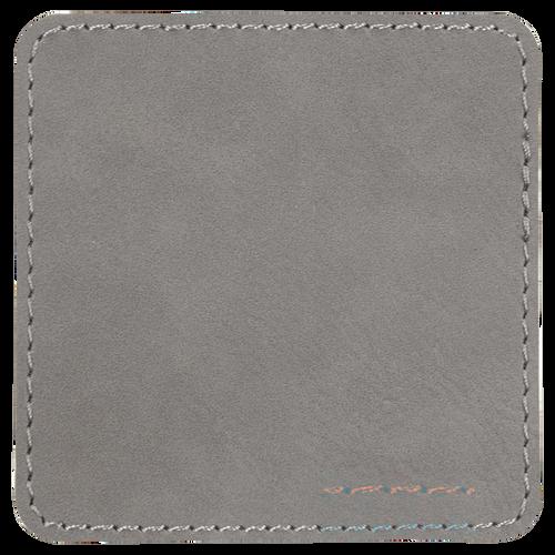 Leatherette Single Square Coasters (minimum order 4)