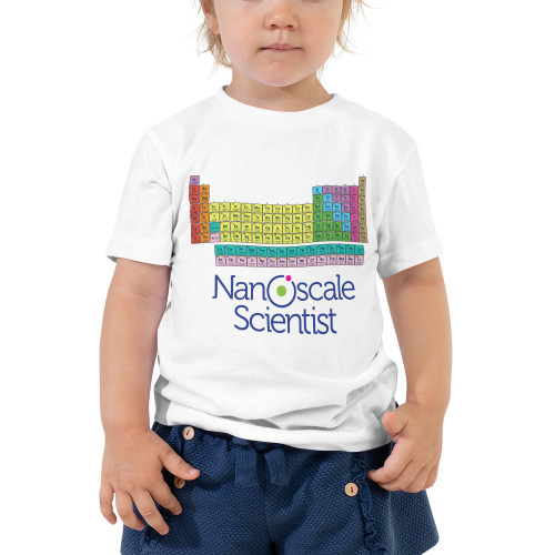 Periodic Table Toddler Short Sleeve Tee