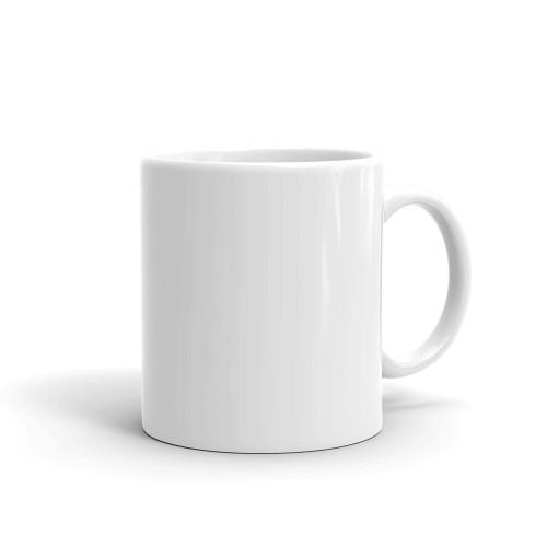 Diamond's are a Girl's Best Friend White glossy mug