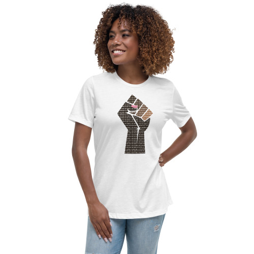 Black and Brown Female Scientists Matter Women's Relaxed T-Shirt