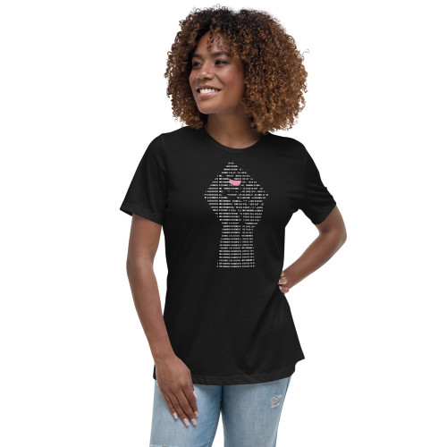 Black Female Engineers Matter Women's Relaxed T-Shirt