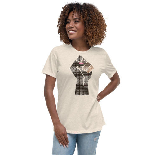 Black and Brown Female Engineers Matter Women's Relaxed T-Shirt