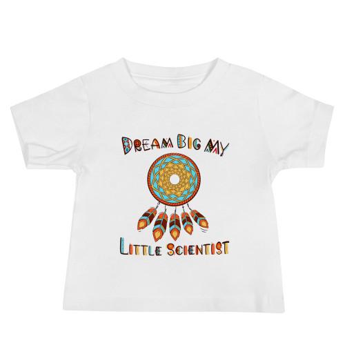 Dream Big My Little Scientist Baby Jersey Short Sleeve Tee
