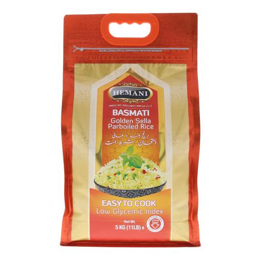 Golden Sella Parboiled Basmati Rice 11lb