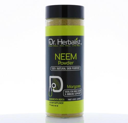 Dr. HERBALIST Neem Powder 170g Bottle