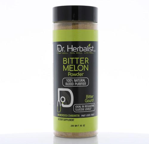 Dr. HERBALIST Bitter Melon (Karela) Powder 200g Bottle