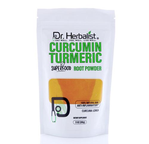 DR. HERBALIST Curcumin Turmeric Powder 200g