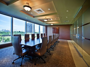 Our boardroom is in an upscale environment that will surely inspire you to achieve greatness!