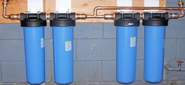 4 stage NASA based whole house filtration