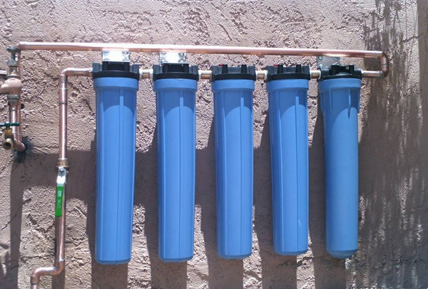 5 Stage Commercial Water Filtration System