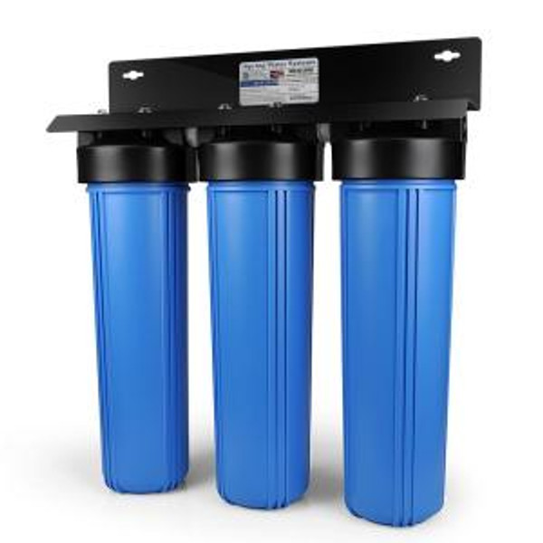 3 stage NASA based whole house water filtration