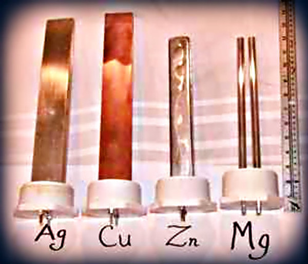 Medical Grade Copper Electrodes