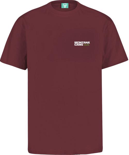 Montana Small Logo T-Shirt Maroon