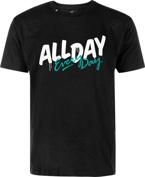 Hektik All Day, Every Day T-shirt Black