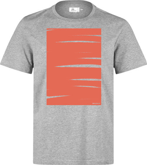 Eight Miles High Schraffo Box T-Shirt Grey