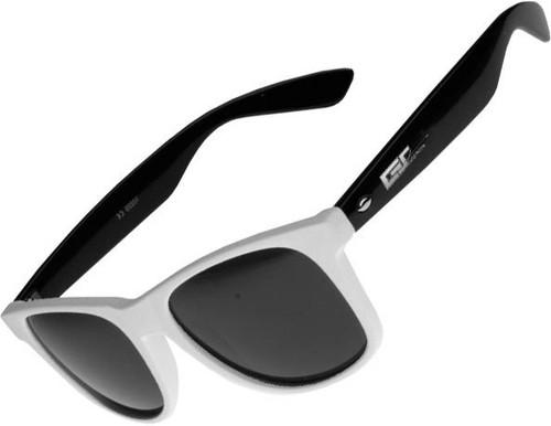 MasterDis Groove Shades Two Dark Glass Sunglasses White Black