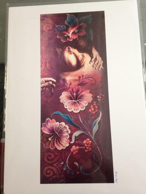 Shona Hardie - Flower Girl A3 Print