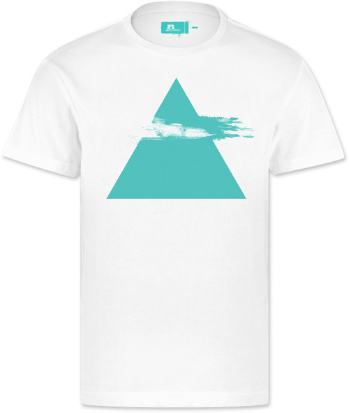 Eight Miles High Pyramid T-Shirt White