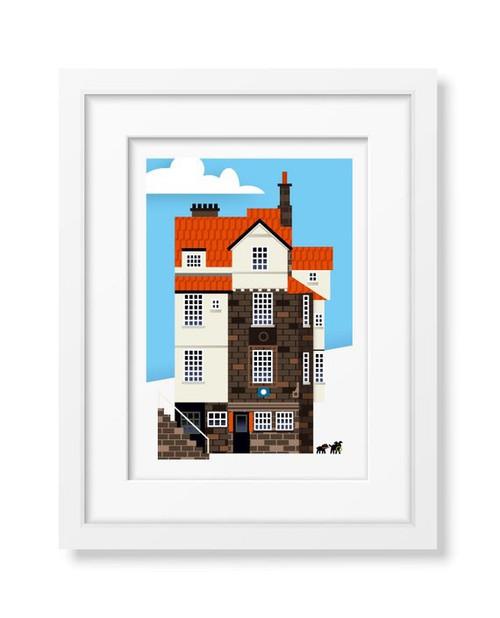 LoveThatView Giclee A4 John Knox House