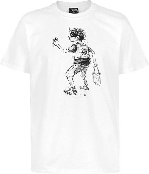 Underpressure Sprayboy T-Shirt White