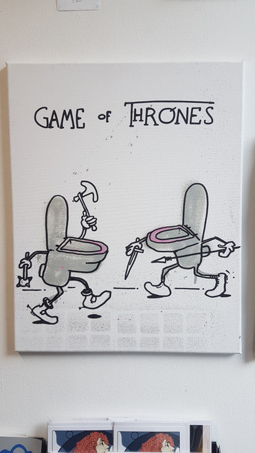 Sior Game of Thrones Canvas