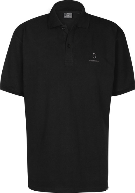 Streetspun Basic Polo Black