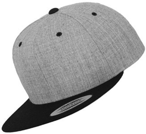 Flexfit Classic 2-Tone Snapback Grey Black