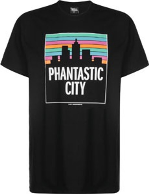 Underpressure Phantastic City Skyline T-Shirt Black