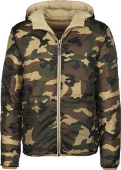 Streetspun Tactical Reverse Winter Jacket Camo Beige