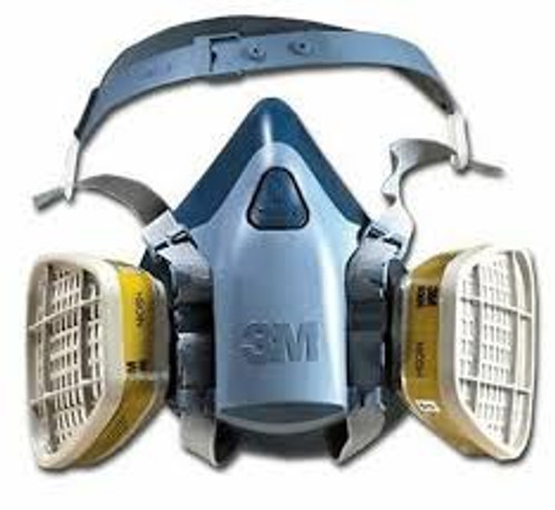 3M 7500 Series Premium Comfort Half Mask Respirator WITH FILTERS