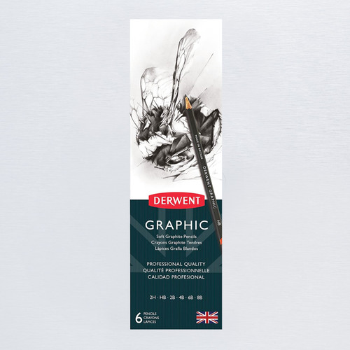 Derwent Graphic Graphite Pencils 6 Pack