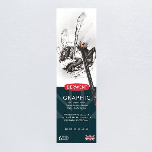 Derwent Graphic Graphite Pencils 6 Pack