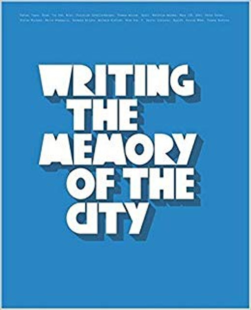 Writing The Memory of The City Book