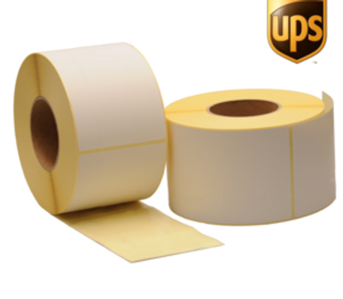 UPS Shipping Label Blank Stickers (10 Pack)