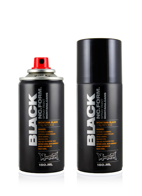 Montana Black Spider Spray Paint 150ml
