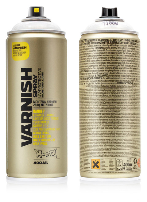Montana Varnish Spray 400ml
