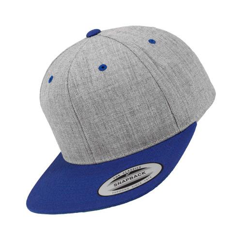 Flexfit Classic 2-Tone Snapback Grey Blue