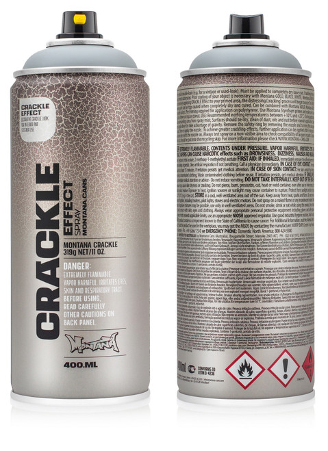 Montana Crackle Effect Spray 400ml | Mainline Art & Graffiti Store Edinburgh