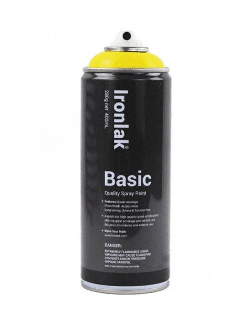 Ironlak Basic Spray Paint 400ml | Mainline Art & Graffiti Store