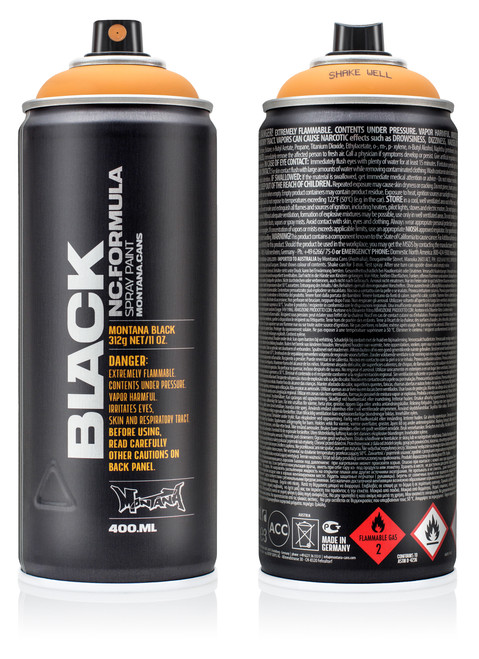 Montana Black Spray Paint 400ml | Mainline Art & Graffiti Store