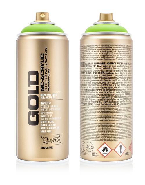 Montana Gold Spray Paint 400ml | Mainline Art & Graffiti Store Edinburgh
