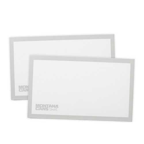 Montana Eggshell Stickers White x50