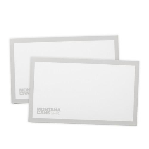 Montana Eggshell Stickers White x50