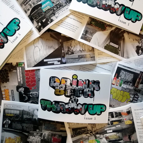 Drink Beer & Throw Up Zine - Issue 1