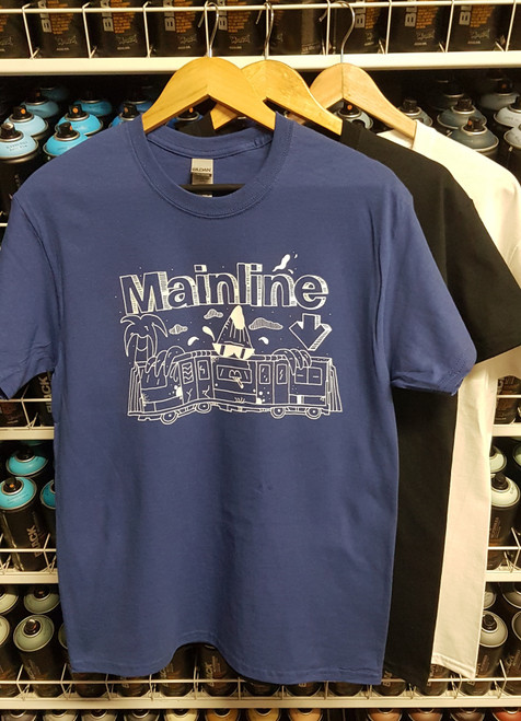 Mainline x Smasharelli7 Banana Train T-Shirt