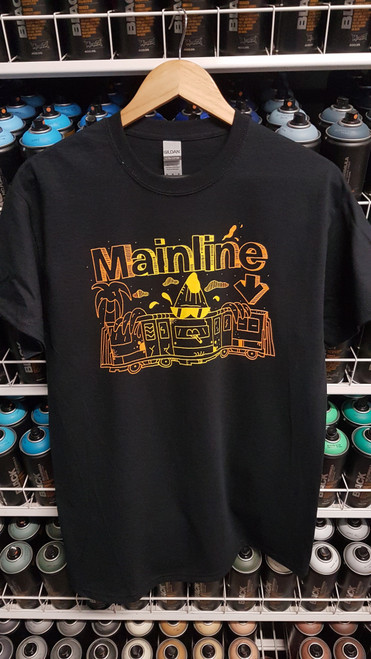Mainline x Smasharelli7 Banana Train Gradient Print T-Shirt